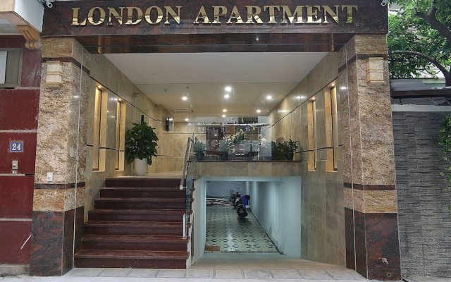 London Hotel & Apartment вид на фасад