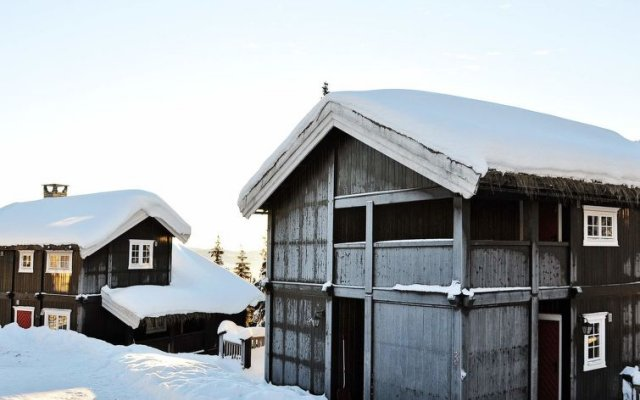 Отель Kvitfjell вид на фасад