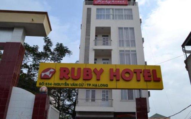 Ruby Ha Long Hotel вид на фасад