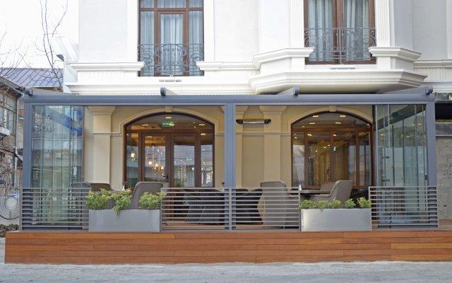 Отель City Avenue вид на фасад