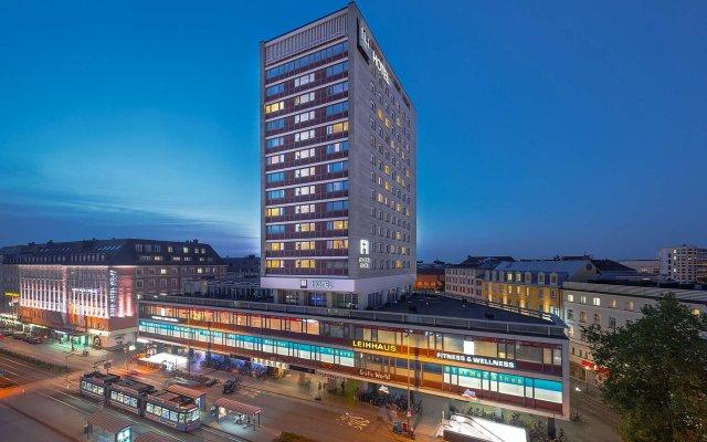 Отель NH München Deutscher Kaiser вид на фасад