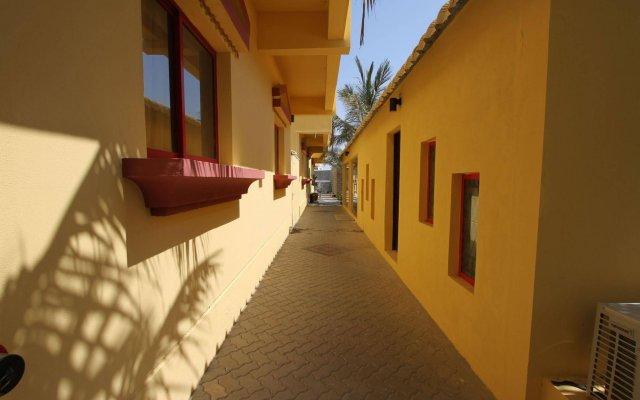 Отель Al Maha Residence RAK вид на фасад