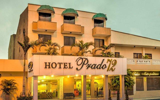 Hotel Prado 72 вид на фасад