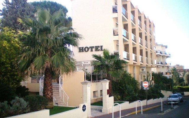 Отель Cannes Gallia Франция, Канны - отзывы, цены и фото номеров - забронировать отель Cannes Gallia онлайн вид на фасад