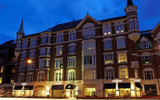 Avenue Hotel Copenhagen вид на фасад