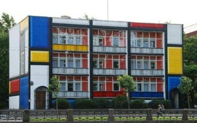 Graffiti Hostel вид на фасад