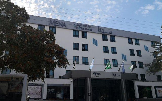 MENA Tyche Hotel Amman вид на фасад