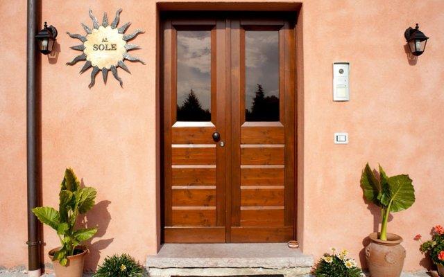 Отель B&B Al Sole Di Cavessago Беллуно вид на фасад