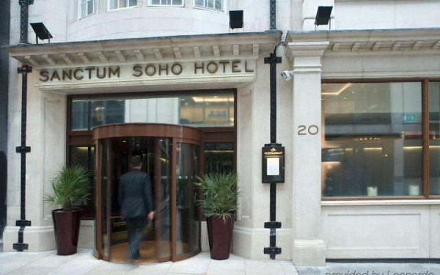 Отель Sanctum Soho Hotel Великобритания, Лондон - отзывы, цены и фото номеров - забронировать отель Sanctum Soho Hotel онлайн вид на фасад