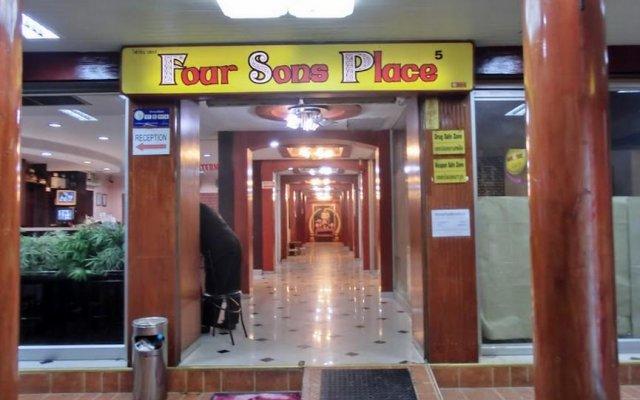 Отель Four Sons Place Таиланд, Бангкок - отзывы, цены и фото номеров - забронировать отель Four Sons Place онлайн вид на фасад