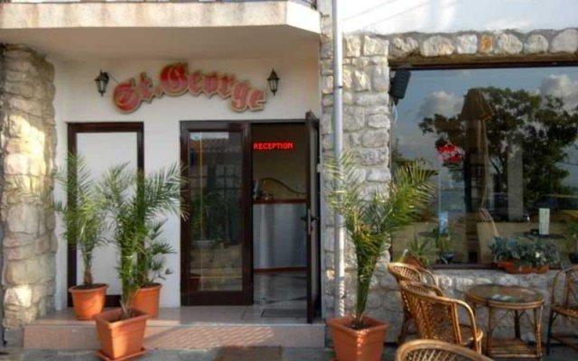 Отель Saint George Nessebar Болгария, Несебр - отзывы, цены и фото номеров - забронировать отель Saint George Nessebar онлайн вид на фасад