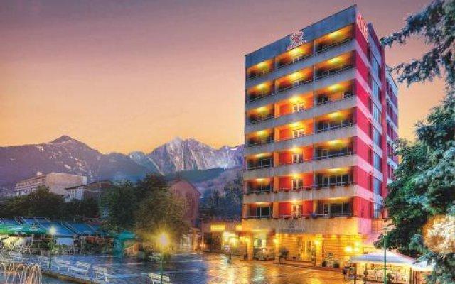 Отель Spa Hotel Sveti Nikola Болгария, Сандански - отзывы, цены и фото номеров - забронировать отель Spa Hotel Sveti Nikola онлайн вид на фасад