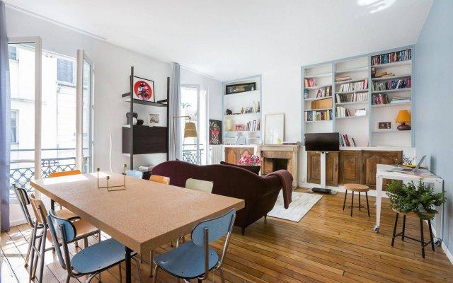Отель onefinestay - Montparnasse Apartments Франция, Париж - отзывы, цены и фото номеров - забронировать отель onefinestay - Montparnasse Apartments онлайн комната для гостей