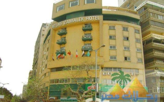 Atlas Zamalek Hotel вид на фасад