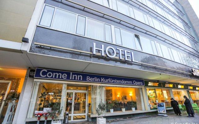 Отель Come Inn Berlin Kurfürstendamm Opera Германия, Берлин - 13 отзывов об отеле, цены и фото номеров - забронировать отель Come Inn Berlin Kurfürstendamm Opera онлайн вид на фасад