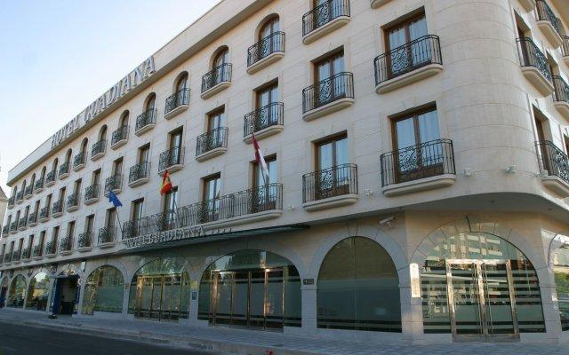 Отель Sercotel Guadiana Испания, Сьюдад-Реаль - 1 отзыв об отеле, цены и фото номеров - забронировать отель Sercotel Guadiana онлайн вид на фасад