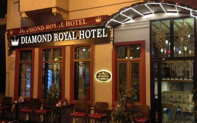 Diamond Royal Hotel вид на фасад