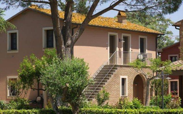 Отель Residence Il Casale Etrusco - Extranet Кастаньето-Кардуччи вид на фасад