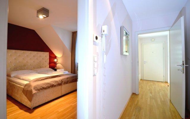 Отель City Center Penthouse Residence Graben Вена комната для гостей