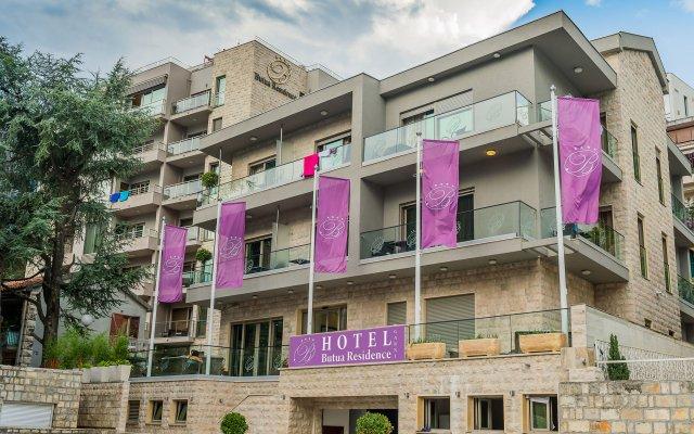 Отель Butua Residence Черногория, Будва - отзывы, цены и фото номеров - забронировать отель Butua Residence онлайн вид на фасад