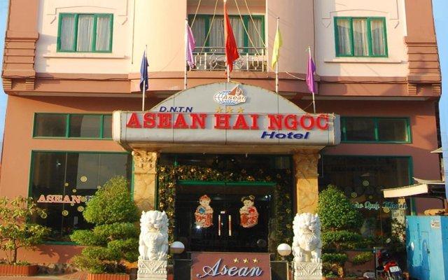 Asean Hai Ngoc Hotel вид на фасад