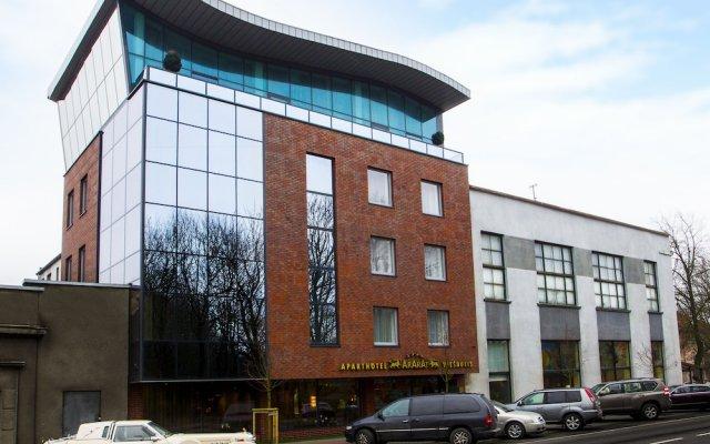 Отель Ararat All Suites Hotel Литва, Клайпеда - 2 отзыва об отеле, цены и фото номеров - забронировать отель Ararat All Suites Hotel онлайн вид на фасад
