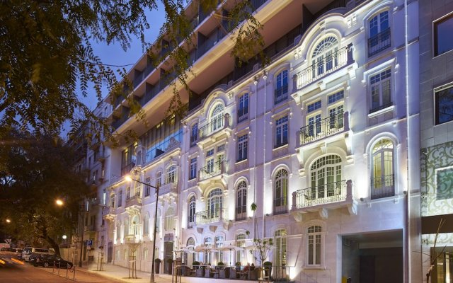 Отель PortoBay Liberdade вид на фасад