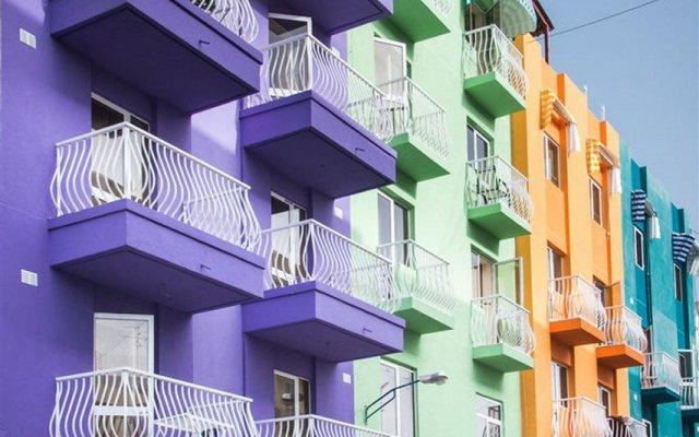 Отель La Paloma Буджибба вид на фасад