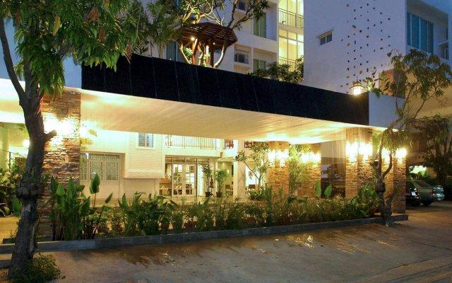 Bansabai Hostel вид на фасад