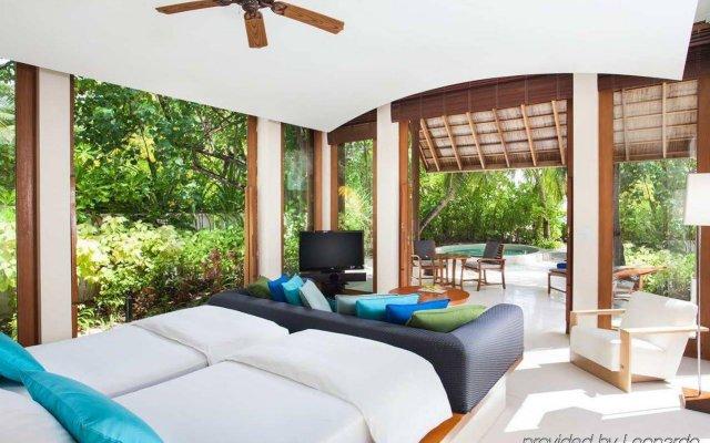 Отель Conrad Maldives Rangali Island Мальдивы, Хувахенду - 8 отзывов об отеле, цены и фото номеров - забронировать отель Conrad Maldives Rangali Island онлайн вид на фасад