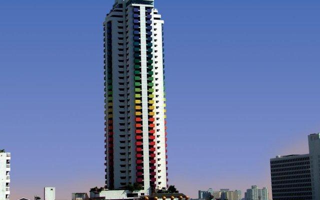 Отель Baiyoke Suite Hotel Таиланд, Бангкок - 3 отзыва об отеле, цены и фото номеров - забронировать отель Baiyoke Suite Hotel онлайн вид на фасад