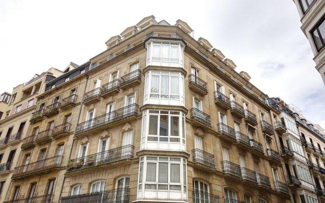 Апартаменты Zubieta Playa 3 Apartment by FeelFree Rentals вид на фасад