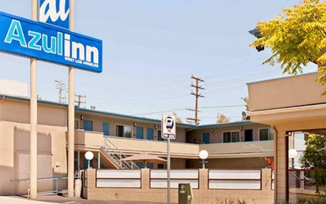 Отель Good Nite Inn West Los Angeles-Century City США, Лос-Анджелес - 1 отзыв об отеле, цены и фото номеров - забронировать отель Good Nite Inn West Los Angeles-Century City онлайн вид на фасад