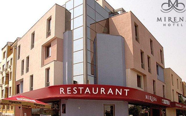 Отель Mirena Hotel Болгария, Пловдив - 1 отзыв об отеле, цены и фото номеров - забронировать отель Mirena Hotel онлайн вид на фасад