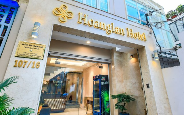 Hoang Lan Hotel вид на фасад