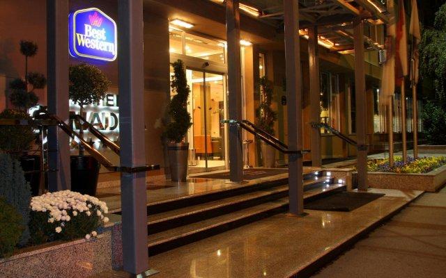 Отель Sumadija Сербия, Белград - отзывы, цены и фото номеров - забронировать отель Sumadija онлайн вид на фасад