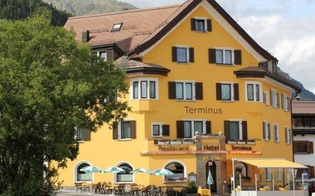 Отель Terminus Швейцария, Самедан - отзывы, цены и фото номеров - забронировать отель Terminus онлайн вид на фасад
