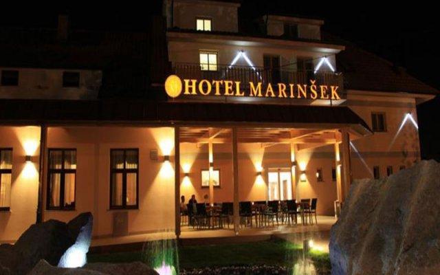 Hotel Marinšek вид на фасад