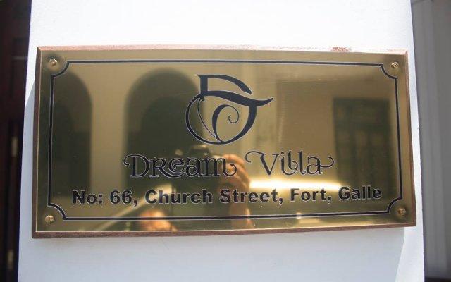 Отель Dream Villa вид на фасад