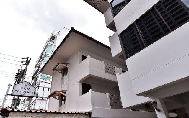 Отель Bkn Residence Паттайя вид на фасад