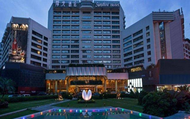 Отель Sunshine Hotel Shenzhen Китай, Шэньчжэнь - отзывы, цены и фото номеров - забронировать отель Sunshine Hotel Shenzhen онлайн вид на фасад