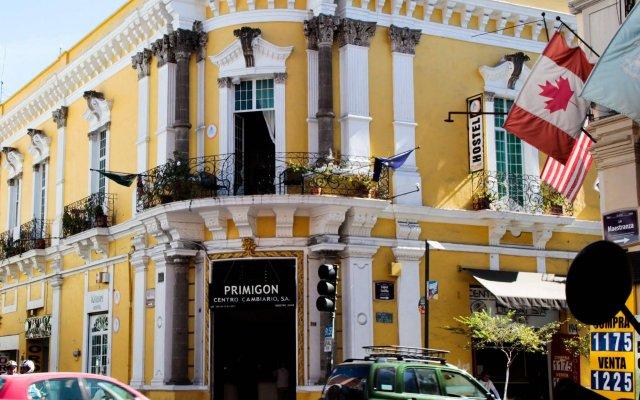 Отель Hostel Hospedarte Centro Мексика, Гвадалахара - отзывы, цены и фото номеров - забронировать отель Hostel Hospedarte Centro онлайн вид на фасад