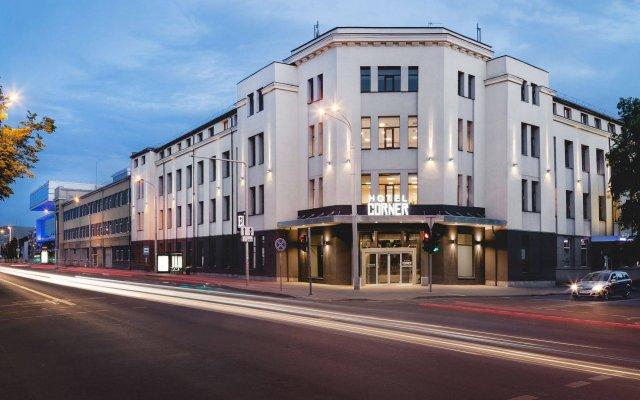Отель Corner Литва, Вильнюс - - забронировать отель Corner, цены и фото номеров вид на фасад