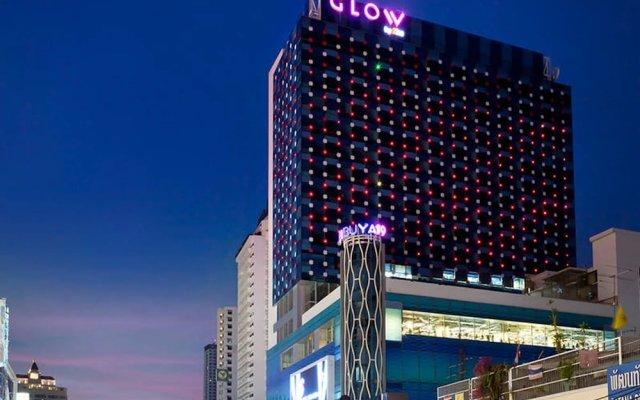 Отель Glow Pratunam Бангкок вид на фасад