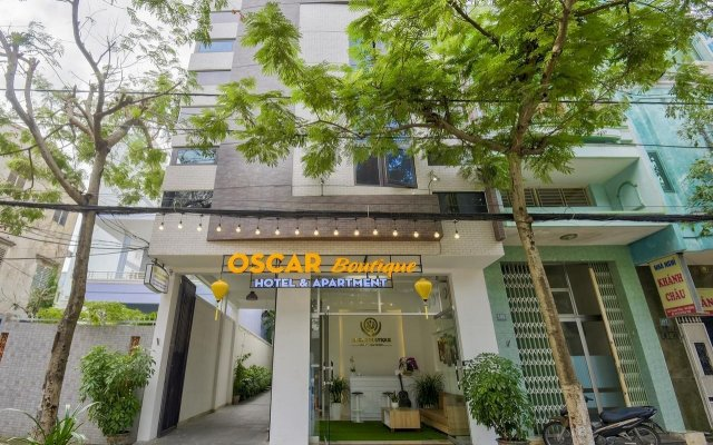 Oscar Boutique Hotel вид на фасад