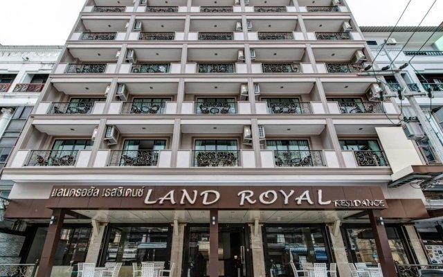 Отель Land Royal Residence Pattaya вид на фасад