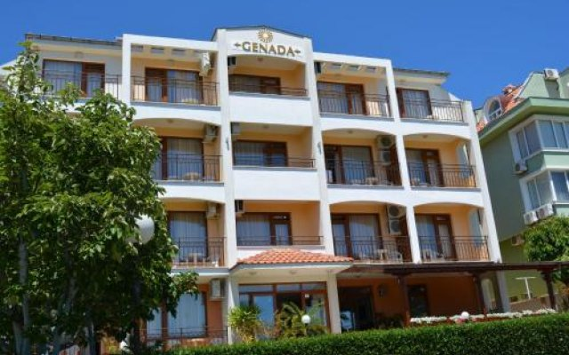 Hotel Genada Свети Влас вид на фасад