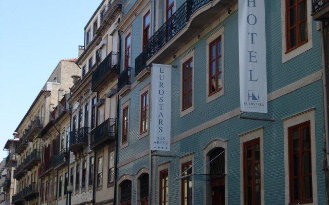 Eurostars Das Artes Hotel вид на фасад