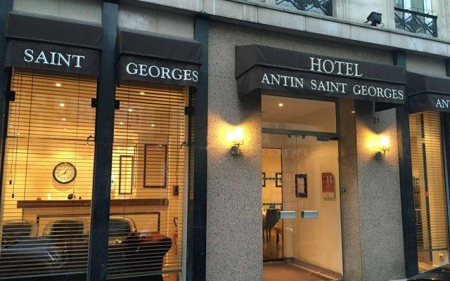 Отель Antin St Georges Франция, Париж - 12 отзывов об отеле, цены и фото номеров - забронировать отель Antin St Georges онлайн вид на фасад