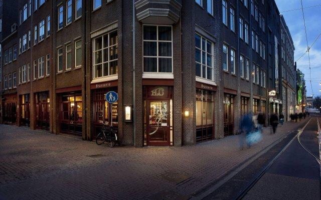 Eden Hotel Amsterdam Амстердам вид на фасад